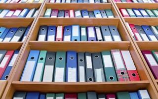 Как составить опись документов
