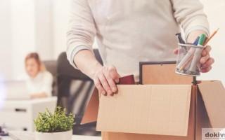 Какие документы должны выдать при увольнении
