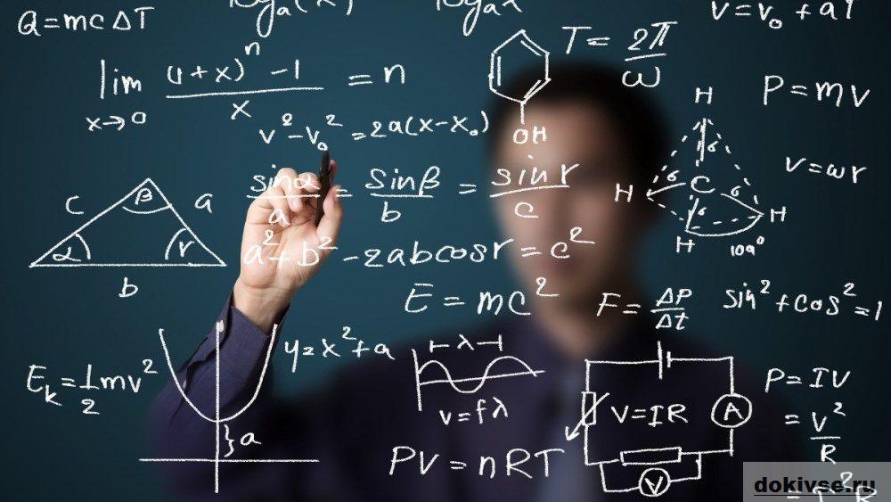 Оформление формул в документах